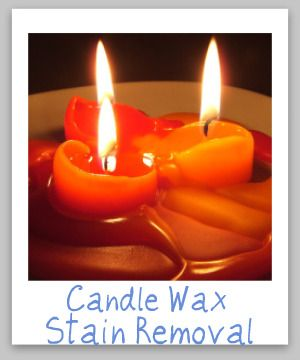 How To Get Red Candle Wax Out Of White Carpet