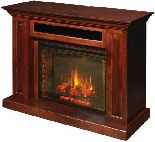 Wondrous Amish Hiland Entertainment Center With Electric Fireplace Interior Design Ideas Apansoteloinfo
