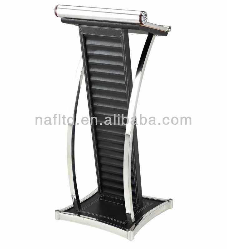 Steel Stand Designs Inc : Rostrum design modern stainless steel lectern podium