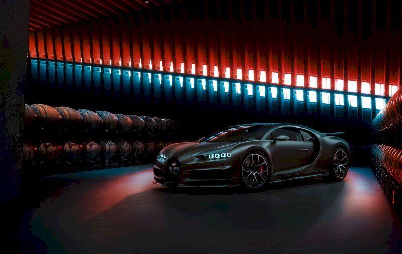 Black Bugatti Chiron 2020 Bugatti Chiron Bugatti Black Car