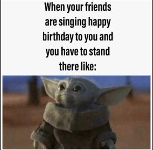 Via Me Me Yoda Funny Yoda Happy Birthday Yoda Meme