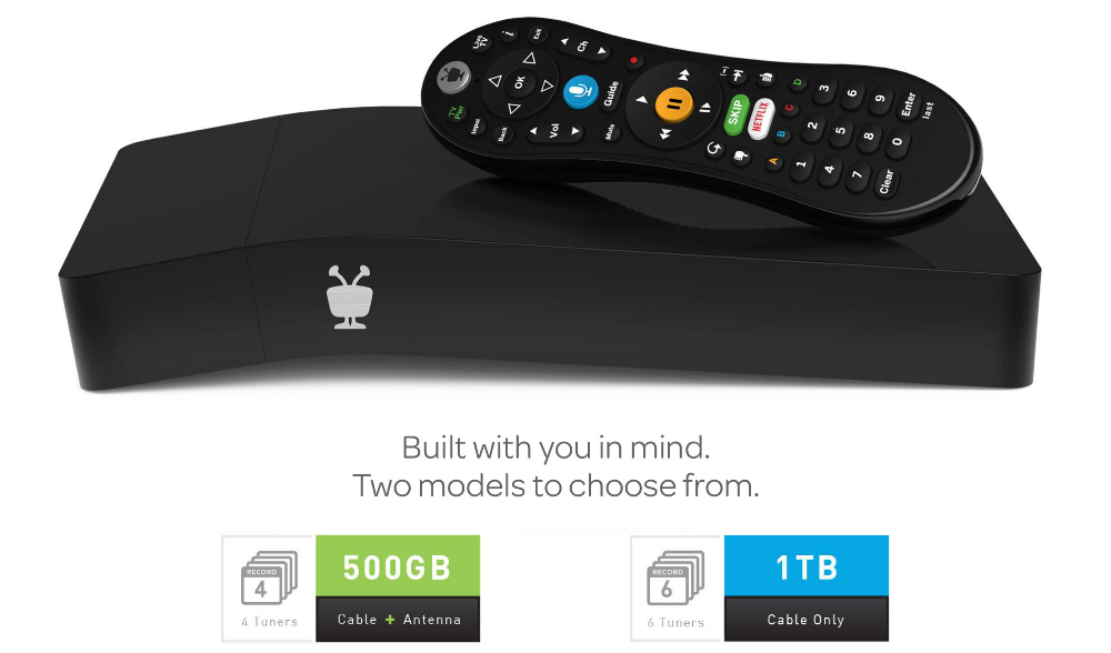 TiVo BOLT VOX Replace your Cable Box DVR with a Unified