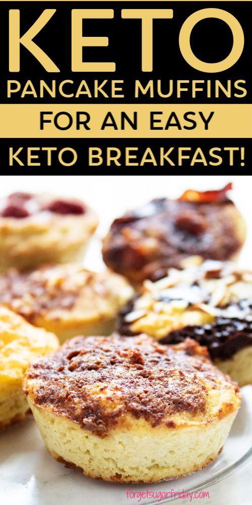 Keto PANCAKE Muffins for an easy keto breakfast!