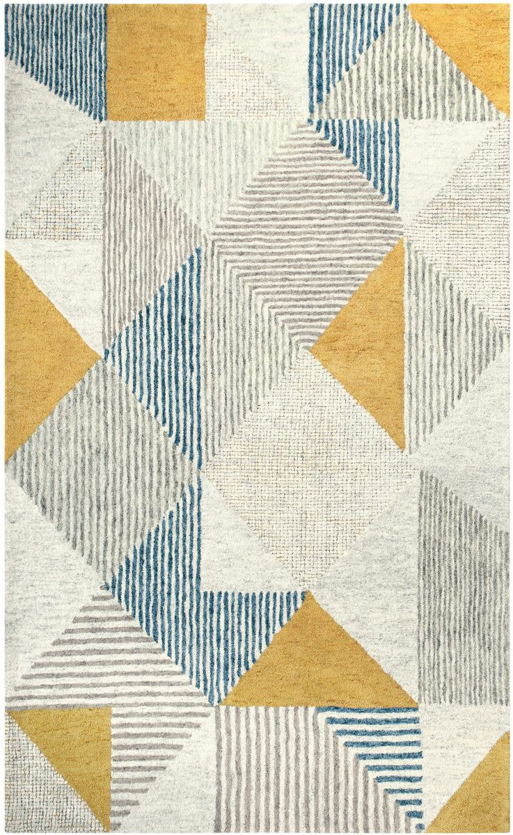 Company C Griffin 10849 Blue Area Rug Rugs On Carpet Textured