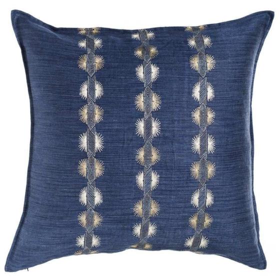 Souk Indigo Pillow Indigo Pillows Coral Tusk Pillows