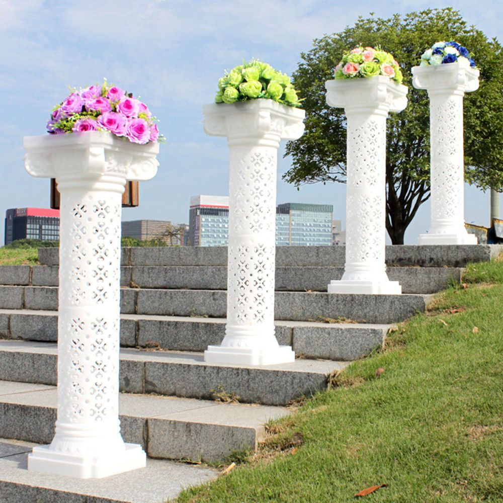 columns for wedding decorations photography props plastic pillars column pedestal 3015