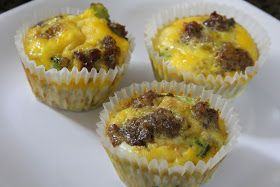 Mix and Match Mama: Sausage and Egg Breakfast Cups