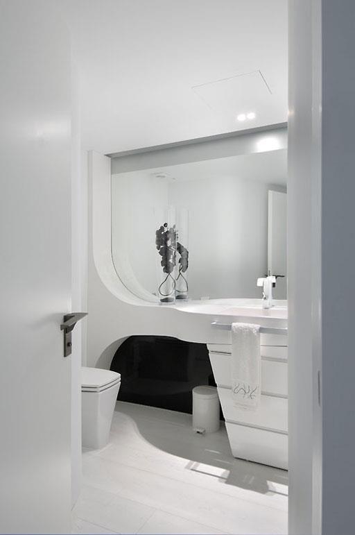 Futuristisch Anmutende Designer Wohnung Bozhinovski | youdeals.us
