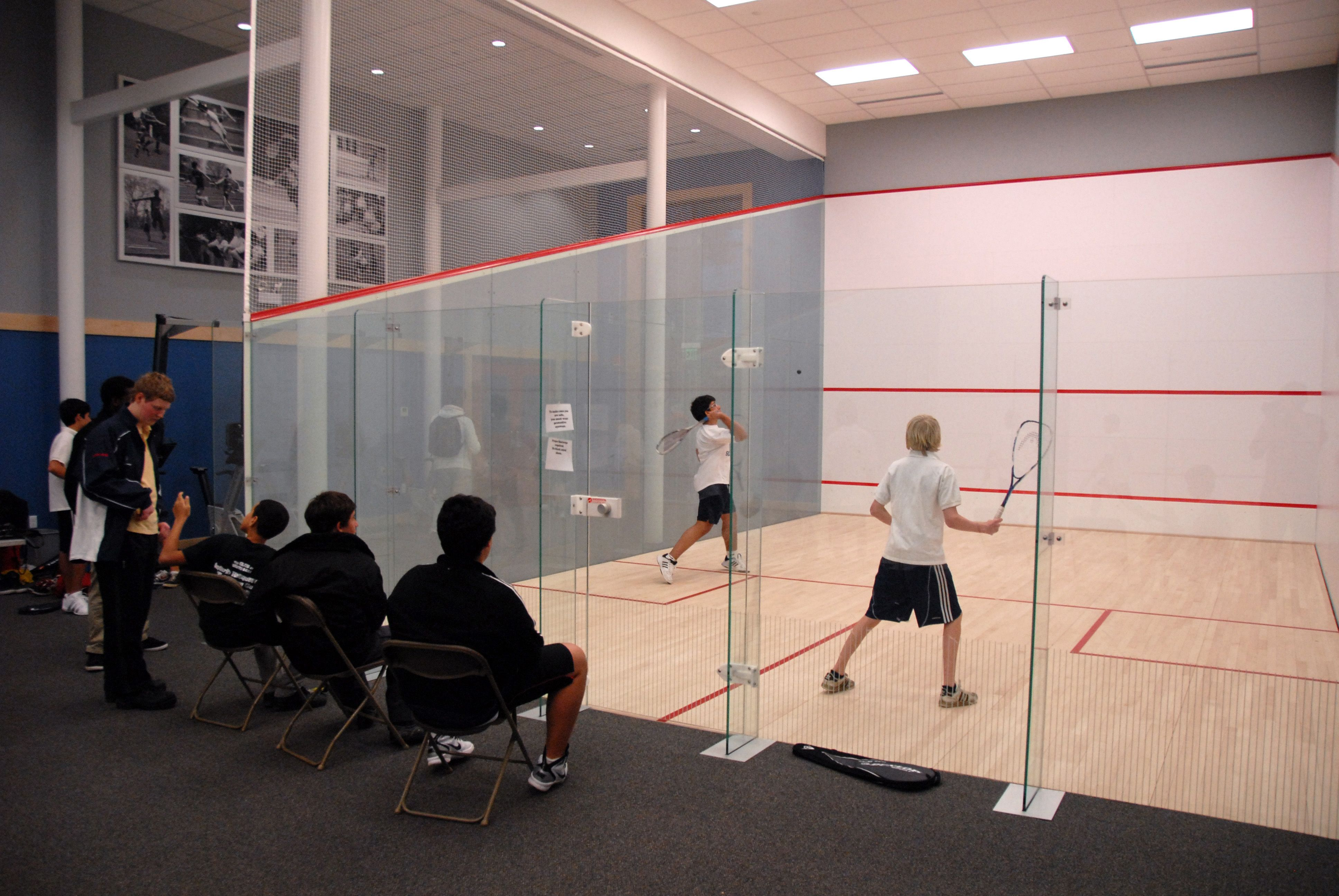 The Squash Courts At Eaglebrook School Eaglebrook Has Six International Squash Courts Located In The Sports Center Court Squash Game School Campus