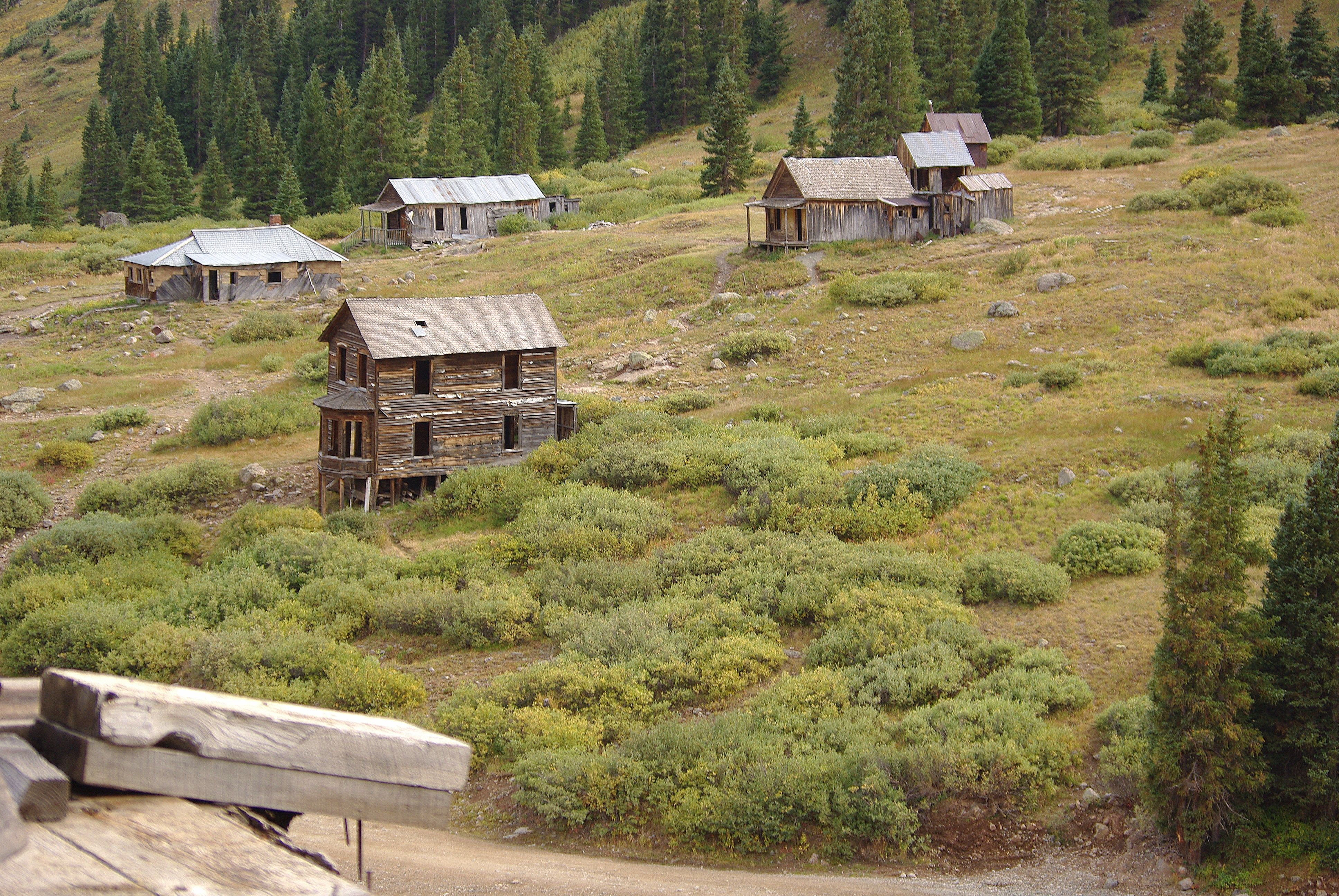 Ghost Town Colorado Map.5 Creepy Colorado Ghost Towns That Still Exist Today The Denver