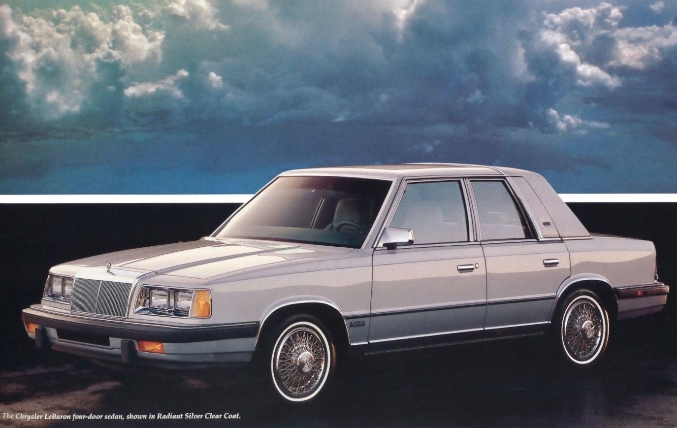 1988 Chrysler Lebaron Sedan With Images Chrysler Lebaron