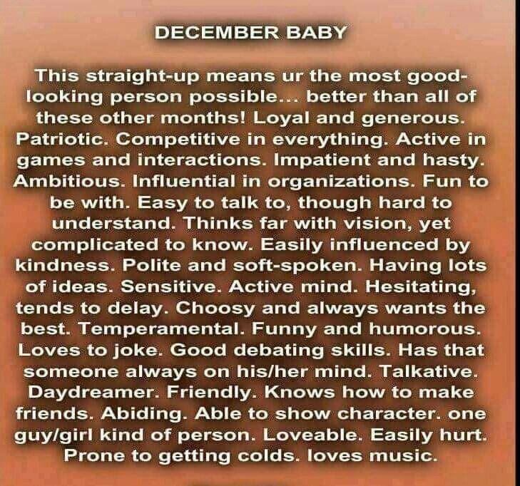 december baby horoscope