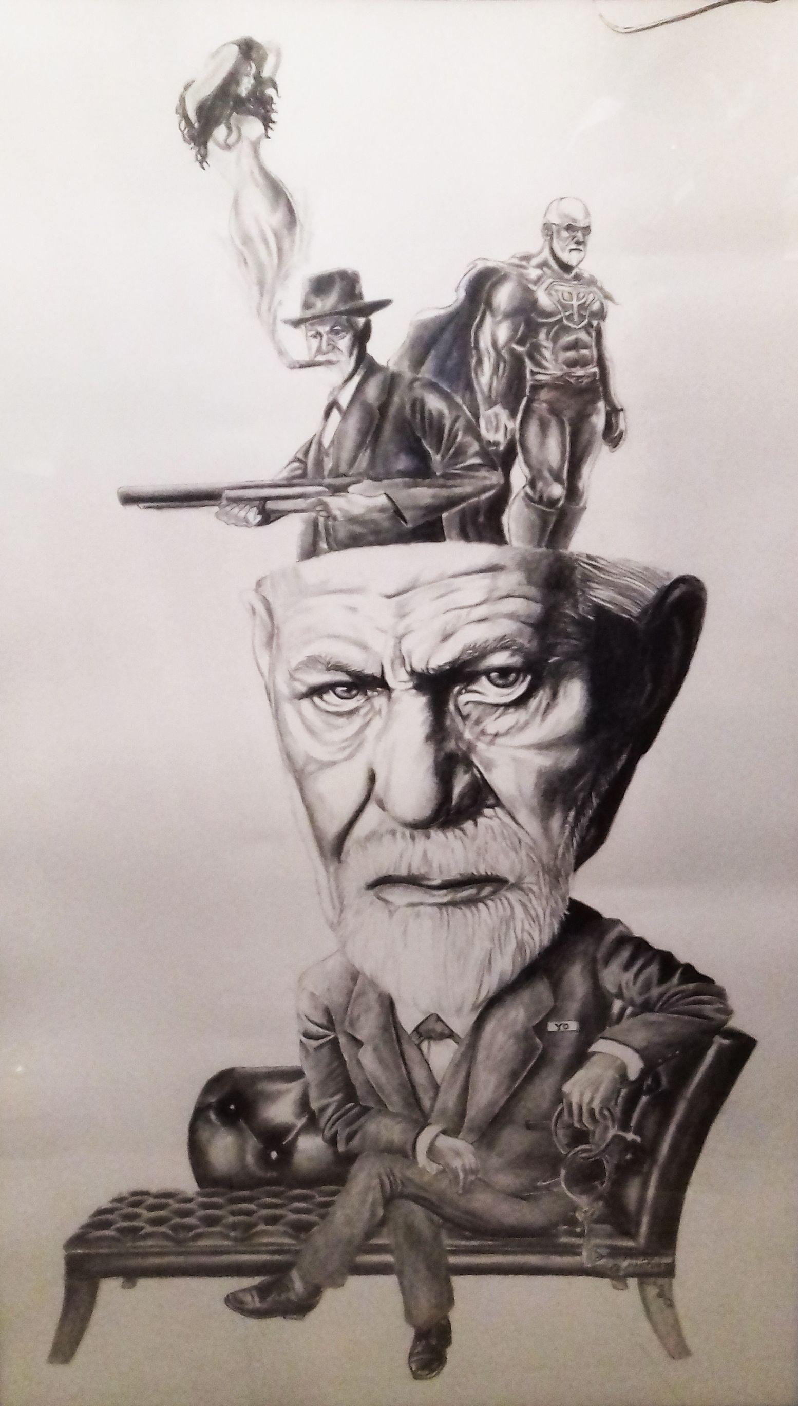 Ello Yo Y Superyo Teoría Psicoanalítica Sigmund Freud Retratos