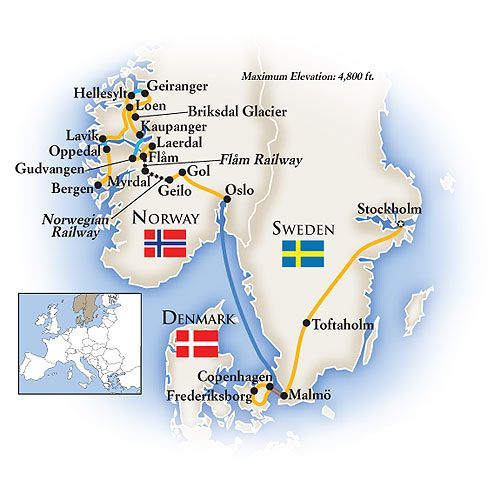 Scandinavia Tour Scandinavia Travel Scandinavia Sweden Travel