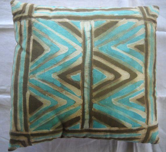 Contemporary batik pillow cover · Business IdeasPillow CoversCloth & Contemporary batik pillow cover | One of a Tribe | Pinterest ... pillowsntoast.com