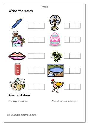phonics spelling cvc 3 agam spelling worksheets phonics spelling activities. Black Bedroom Furniture Sets. Home Design Ideas