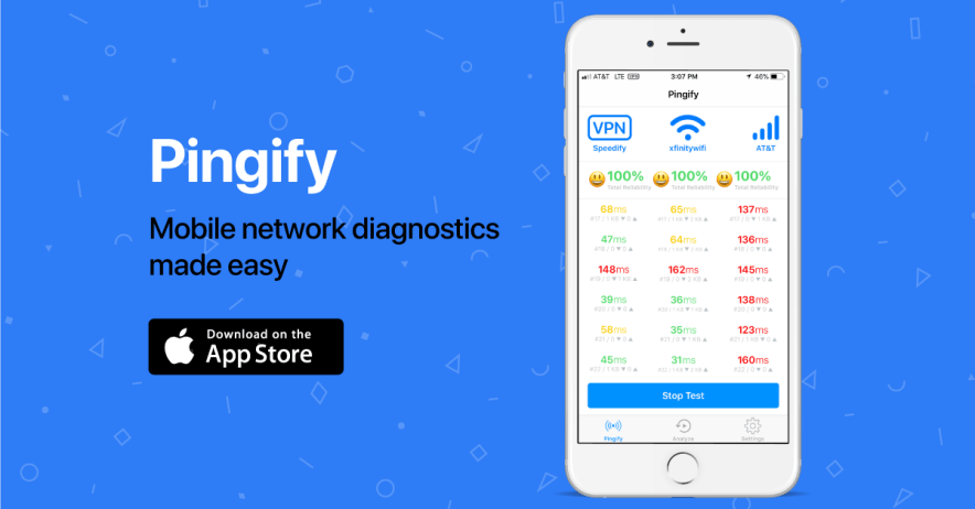 How to Use Pingify on your iPhone Iphone, Wifi, App store