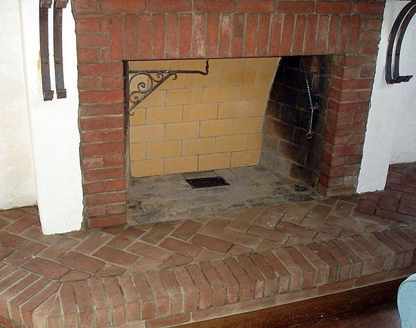 Brick hearths google search fireplace surround pinterest brick fireplace bricks and - Brick fireplace surrounds ideas ...
