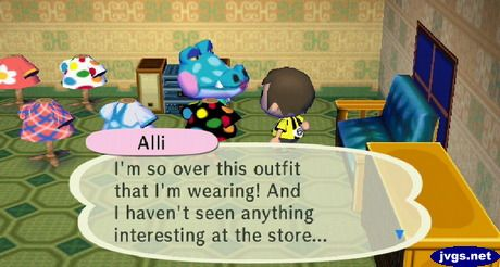 Five Outfits For Alli Animal Crossing City Folk Other Outfits