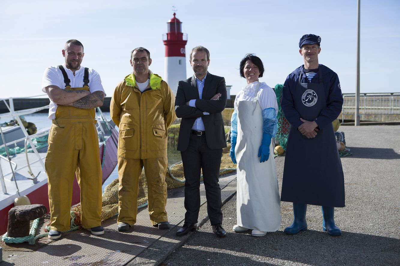 Intermarché Nice Port Nos Collaborateurs Sur Le Port Du Guilvinec En Bretagne Point De