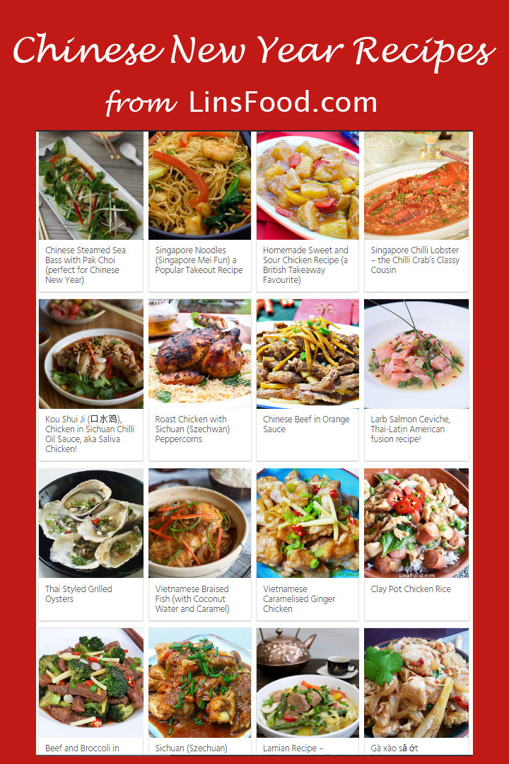 Chinese New Year Recipes From All Over East And South East Asia In 2020 Recipes Cooking Chinese Food Best Chinese Food