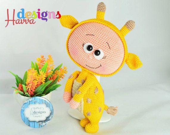 MODÈLE Bonnie avec le Costume de la girafe par HavvaDesigns