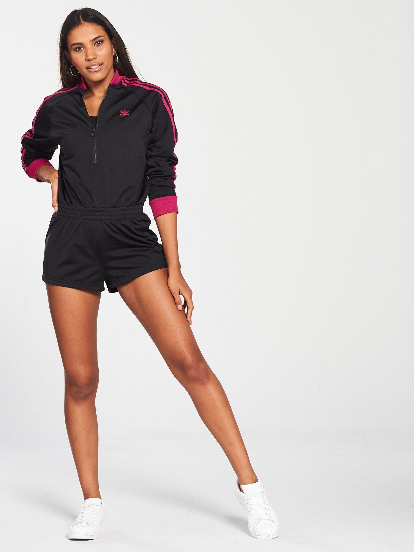 adidas Originals Leoflage Playsuit - Black  aac45ee3d