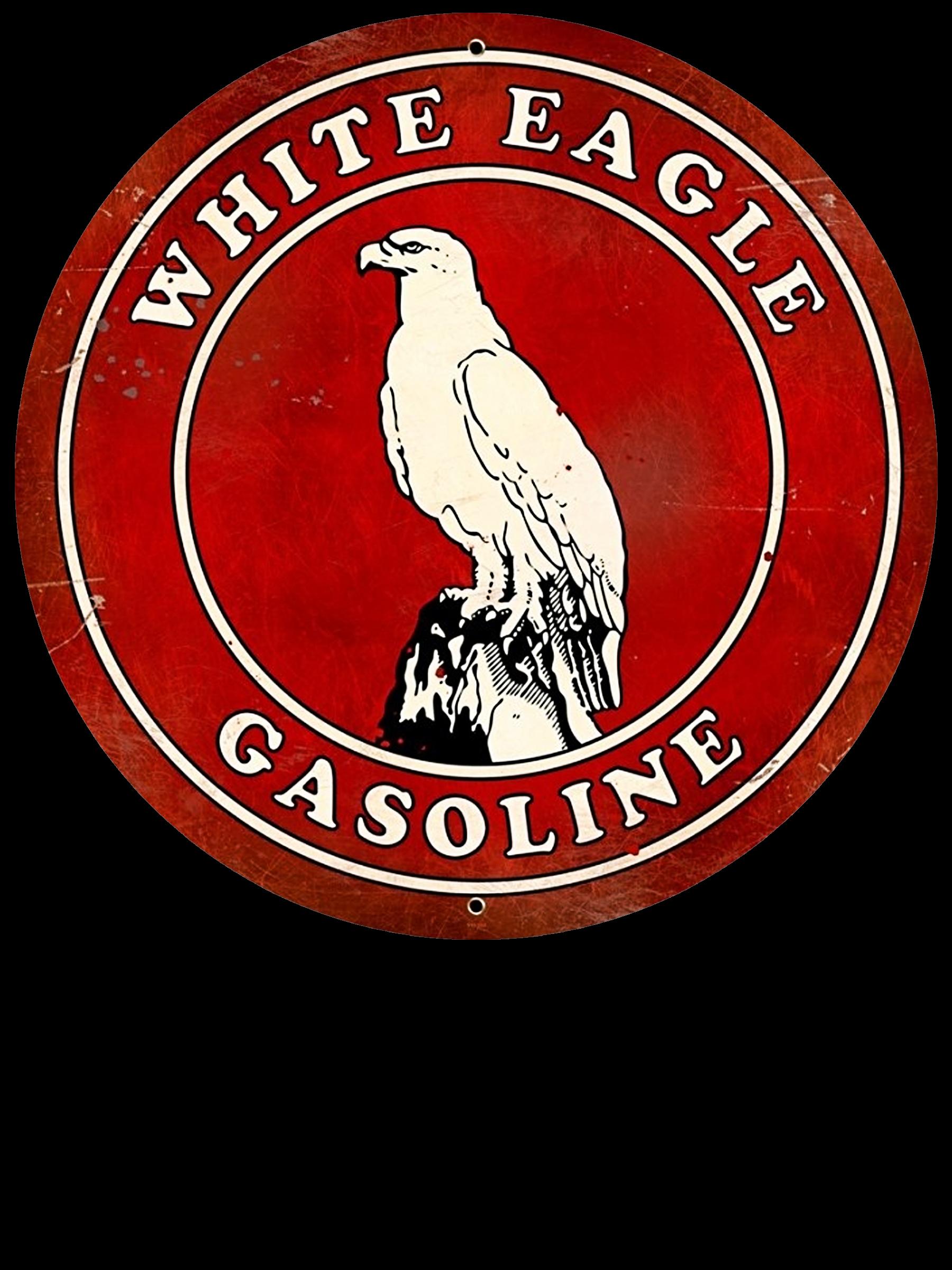 Vintage White Eagle Gasoline Sign. Vintage Oil & Gas Signs ...