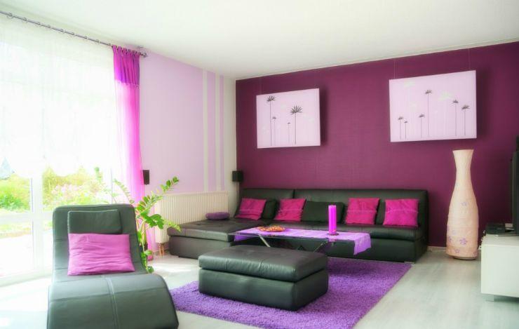 Couleur-de-votre-salon-4jpg (740×469) Living  Dining Room - couleur pour salon moderne
