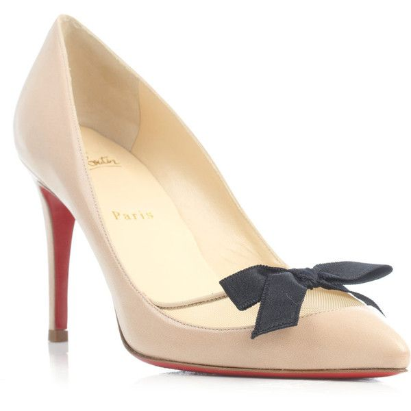 f00dc89e2b47 Christian Louboutin Love Me 85mm pumps ( 704) ❤ liked on Polyvore ...