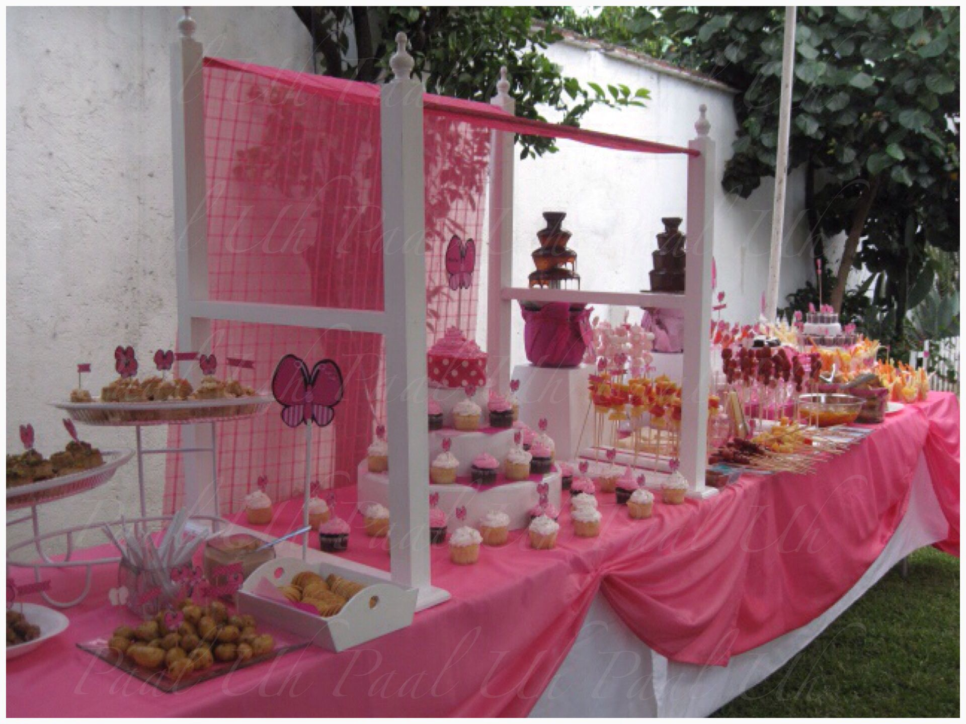 Great Paal Uh. Mesas De Postres U0026 Snacku0027s. Baby Shower, Fuente De Chocolate U0026