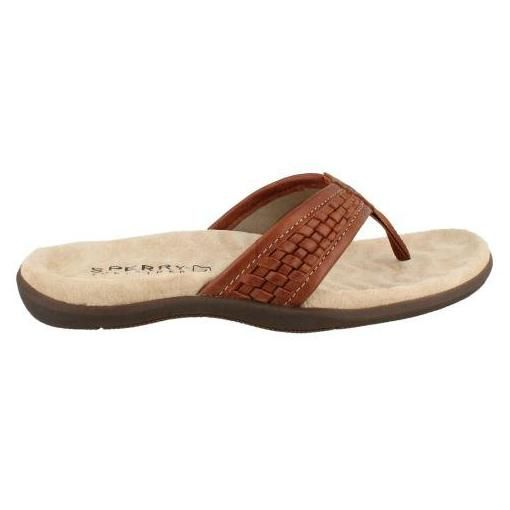 d544cc222730 Sperry Top-Sider Men s Largo Thong Woven Thong Sandal