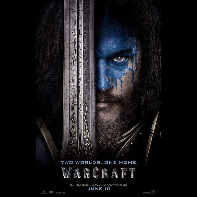 Travis Fimmel as Lothar. The Lion of Azeroth. Warcraft Movie poster