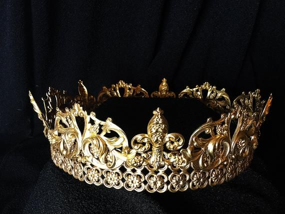 Renaissance Crown--Tudor crown--Medieval crown--Wedding crown--bridal  crown--men s crown--Game of Th ce3ffe1b4d75