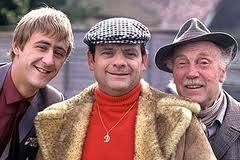 Classic British comedy. Only fools and horses.