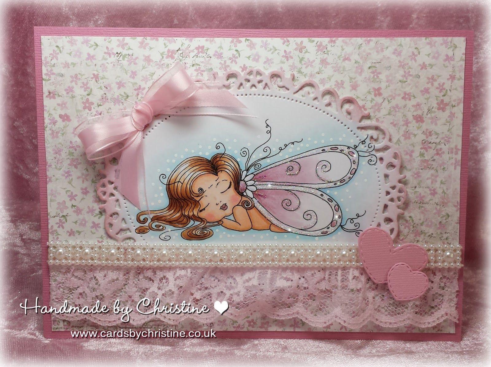 Pink and girlie sherri baldy besties sweet dreams fairy handmade