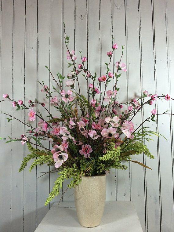 cherry blossom centerpiece table centerpiecesmarigoldsdesigns