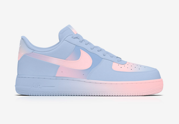 Designer transforma Air Force 1 da Nike com as cores da