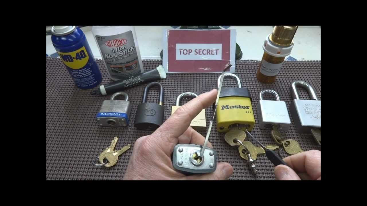 (185) Improve Your Lock Picking Skills (for Beginners
