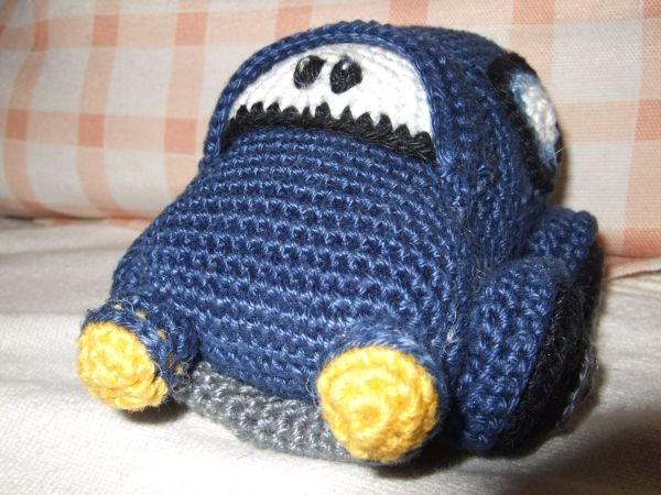 Auto Crochet Car Pattern Knit And Crochet Pinterest Crochet