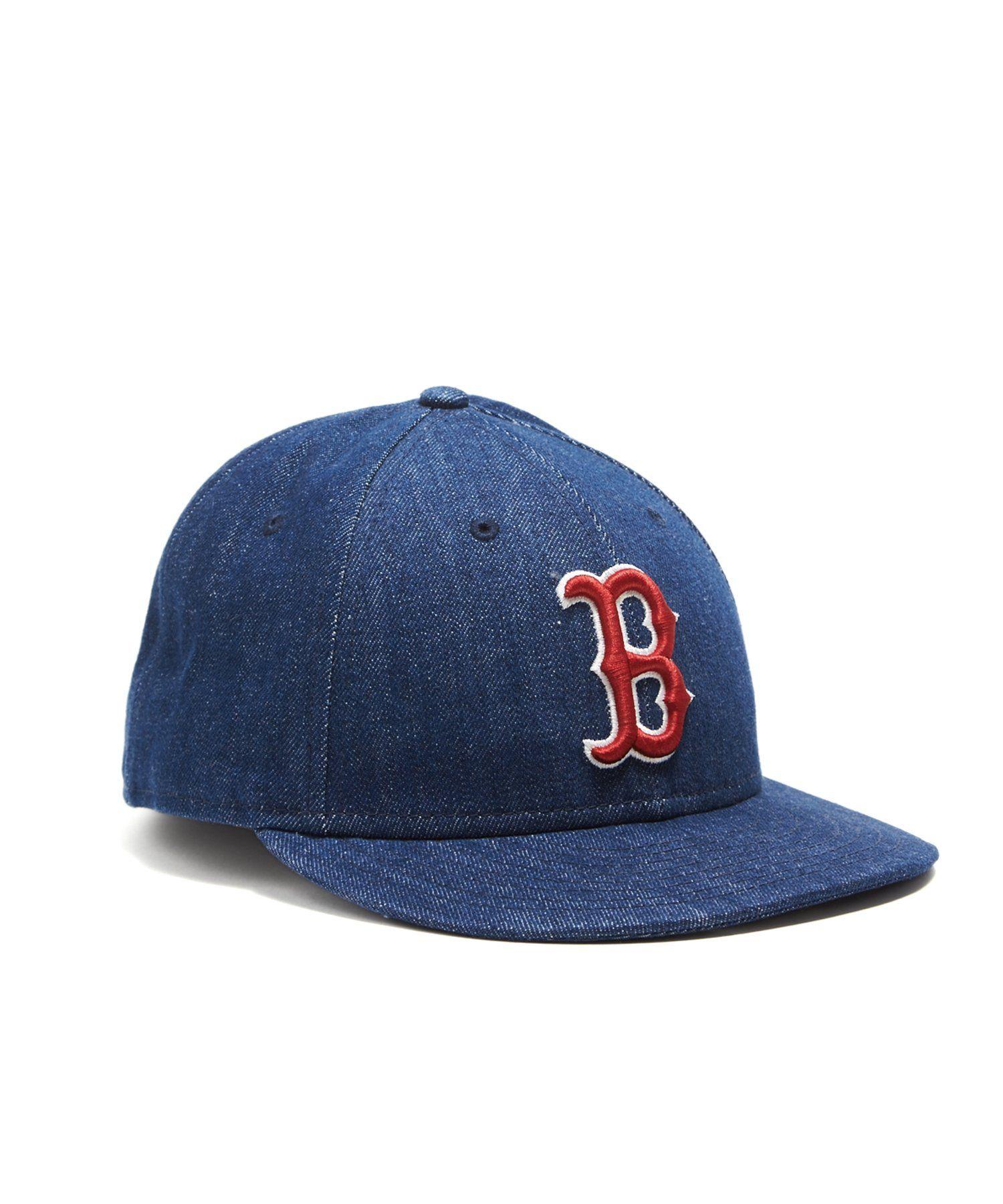 Todd Snyder New Era Cone Denim Boston Red Sox Cap Red Sox Cap