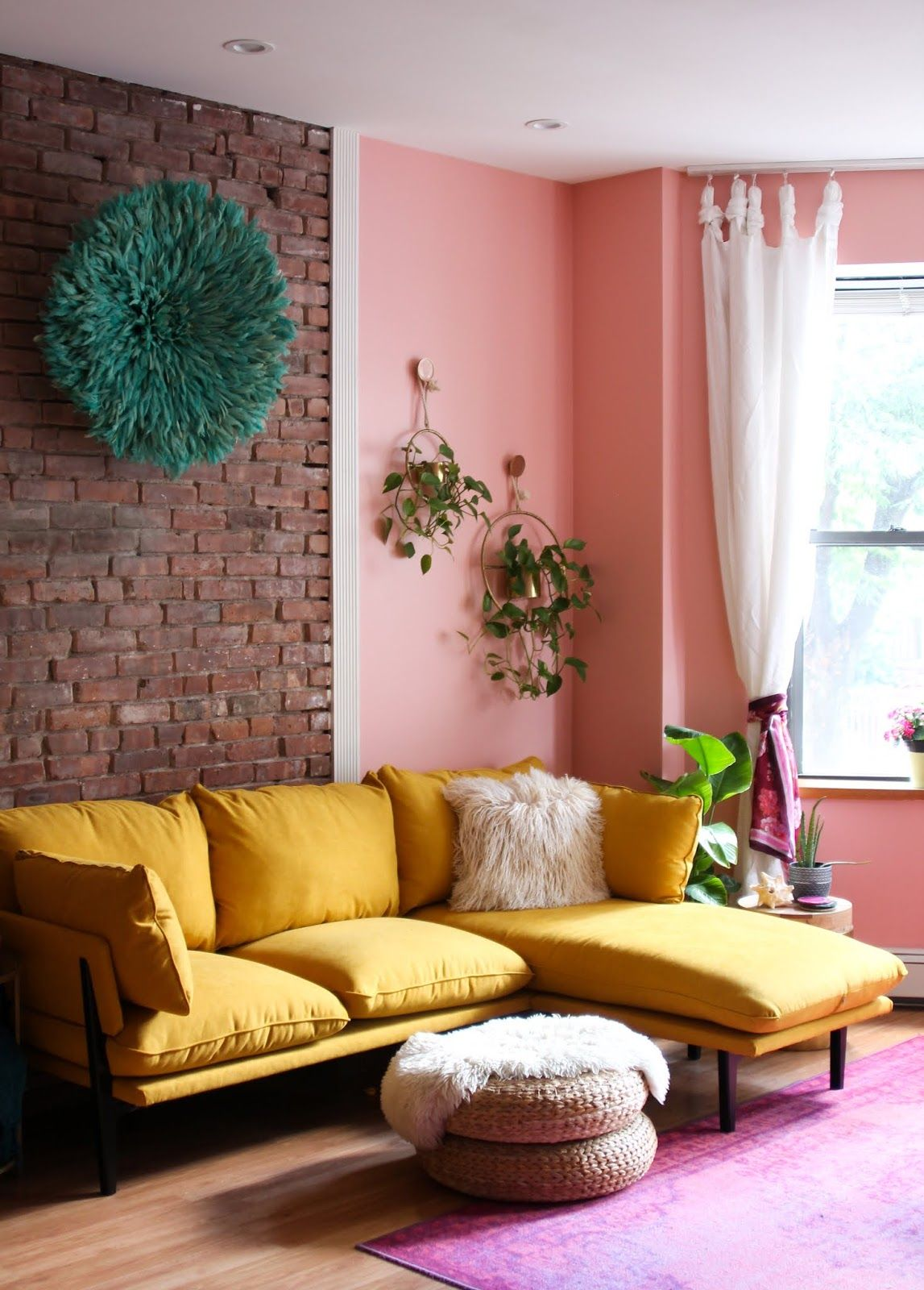 Ready To Go Bold In Your Living Room Here S The Bright Yellow Sofa Of Your Dreams In 2020 Yellow Sofa Vibrant Living Room Yellow Couch #yellow #sofa #living #room #ideas