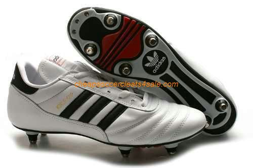MENS ADIDAS WORLD CUP COPA MUNDIAL SOCCER FOOTBALL CLEATS BLACK WHITE SHOES