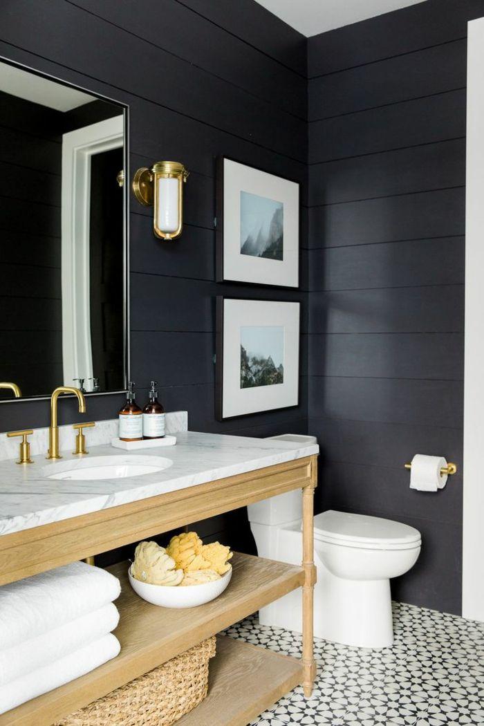 ▷ 1001 + Ideas de cuadros para baños modernos con estilo | Laminas ...