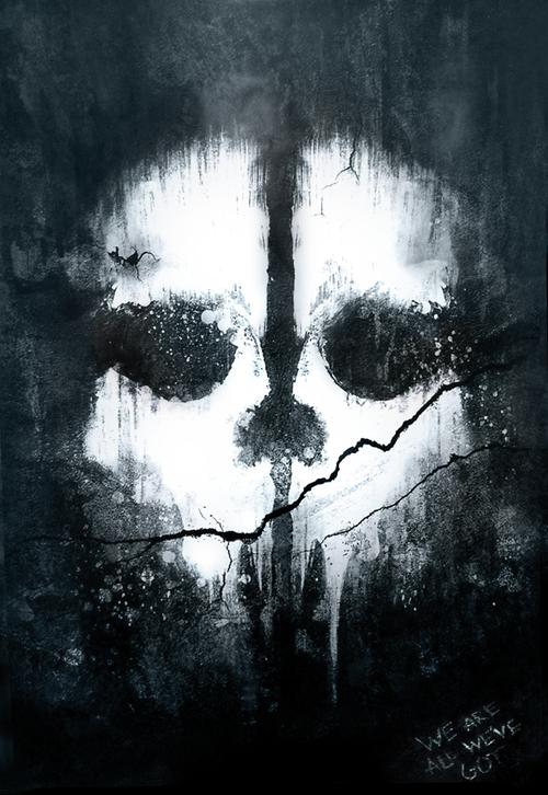 Call Of Duty Ghosts Teaser Trailer Released The First Official Teaser Trailer For Activision S Call Papeis De Parede De Jogos Walpaper Desenho Arte De Jogos