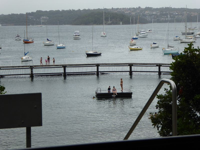 Murray Rose Pool, aka Redleaf Baths in Sydney Harbour