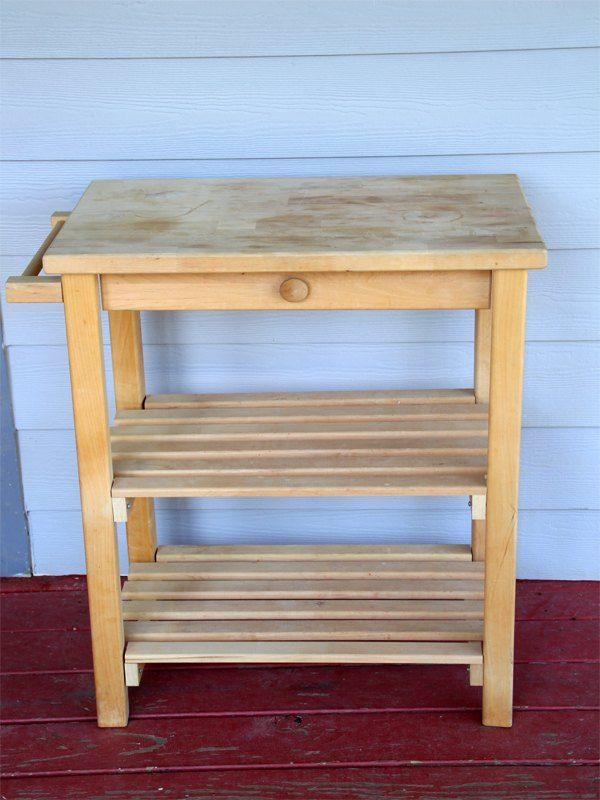 Superior Transform A Yard Sale Microwave Table For Minimal Work, Painted Furniture