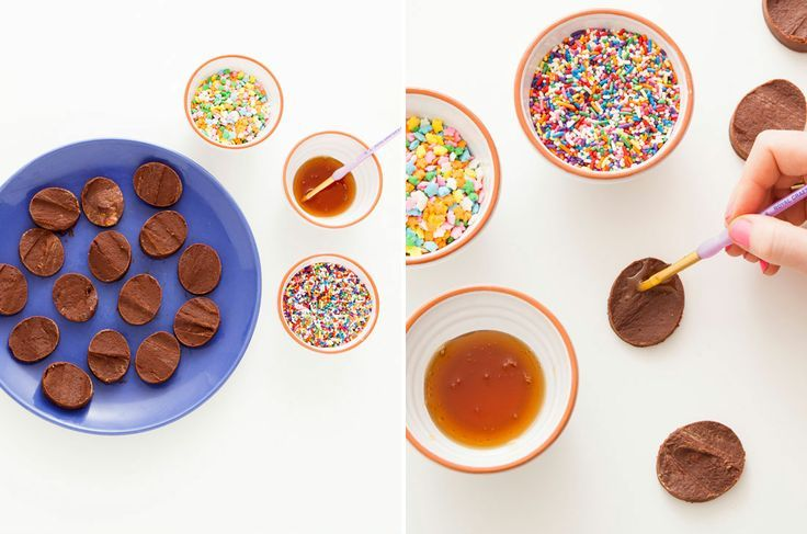 ... It! Make This Chocolate Peanut Butter Easter Egg Fudge via Brit + Co