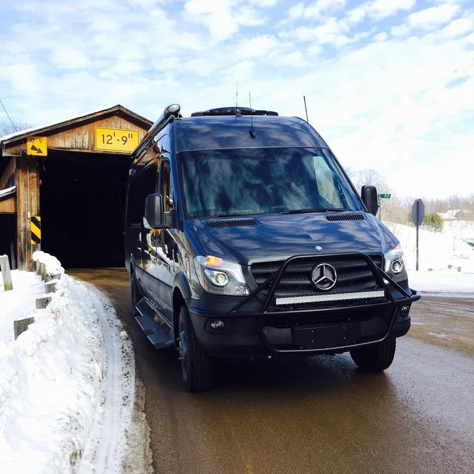 Mercedes sprinter from advanced rv with aluminess front light bar van light bars in the present world the usage of electronics and electric appliances are essential for daily living aloadofball Images