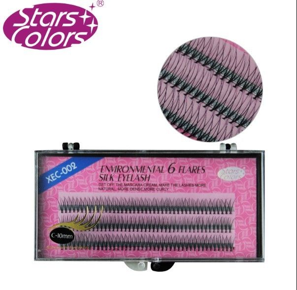 Stars Colors False Eyelashes 8mm10mm 12mm Environmental 6 Flares